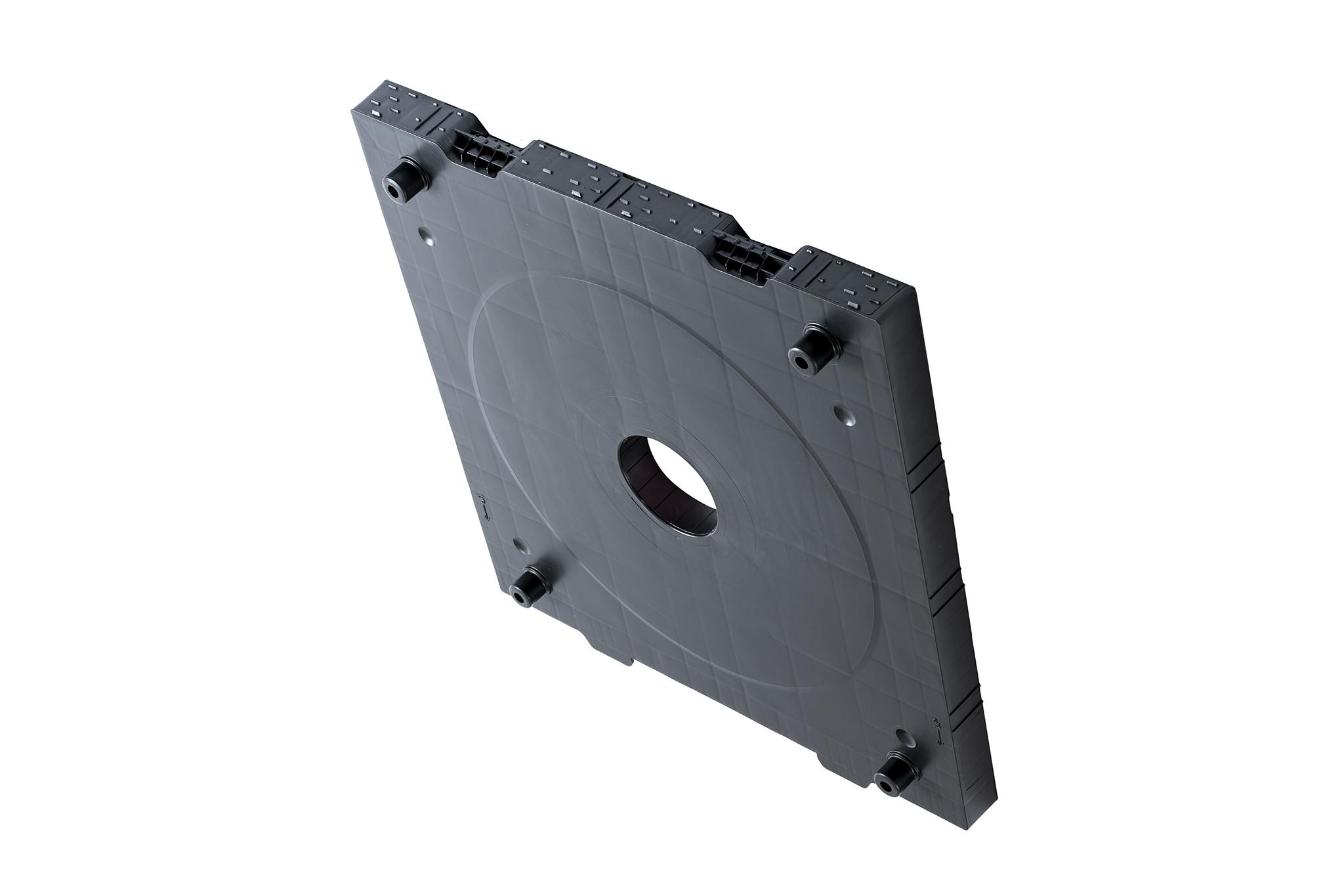 End-plate 800x840 / hole 152